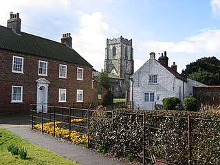 Harpham Village and civil parish in the East Riding of Yorkshire, England