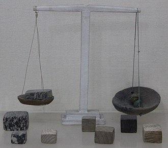 History of measurement systems in India - Indus Valley Civilisation weights and measures - National Museum, New Delhi
