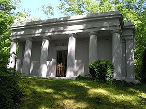 Harry Helmsley - The mausoleum of Harry Helmsley