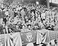 Harry Truman at 1948 Washington Senators season opener.JPG