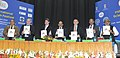 Harsh Vardhan with the Minister of Science, Technology and Space, Israel Mr. Ofir Akunis releasing the brochure, at the inauguration of the India International Science Film Festival, in New Delhi.jpg