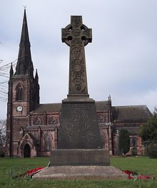 Hartshill War Memorial, Stoke-on-Trent Staffs.JPG