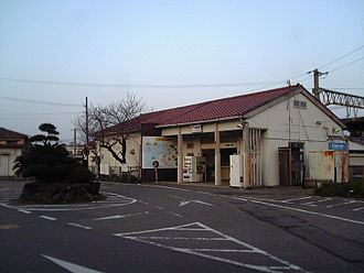 Hatsushima Station - Station building, March 2010