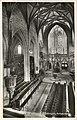 Hauptschiff der Stiftskirche zum Altar (AK 542W54 E Weihenmaier 1931).jpg
