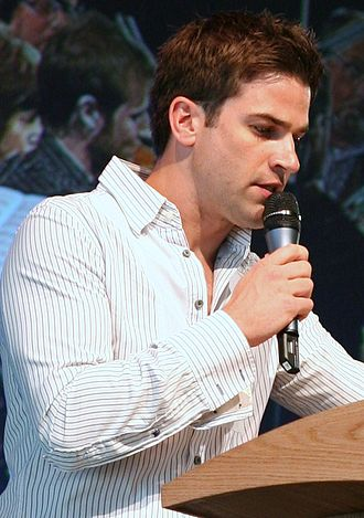 Gethin Jones - Jones at the Hay Festival in Hay-on-Wye, 31 May 2008