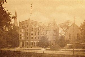Hays Hall - Hayes Hall in 1912.