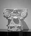 Head of ionic column at the Museum of Taranto.jpg
