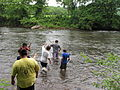 Heading out to collect stream insects (9091024831).jpg