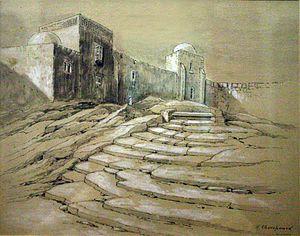 Hedley Churchward - Hagar's steps