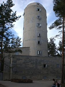 Hel - Bateria Schleswig-Holstein (wieza2).JPG