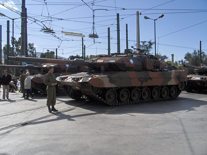Armée Grecque 800px-Hellenic_Army_-_LEO2A6HEL_-_7230