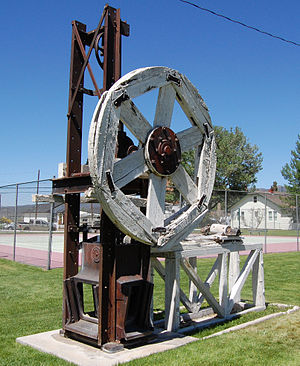 Joshua Hendy Iron Works - A Hendy stamp mill from the mid-1800s. It is currently located in Bridgeport, California.