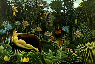 Henri Rousseau - The Dream (1910), MoMA