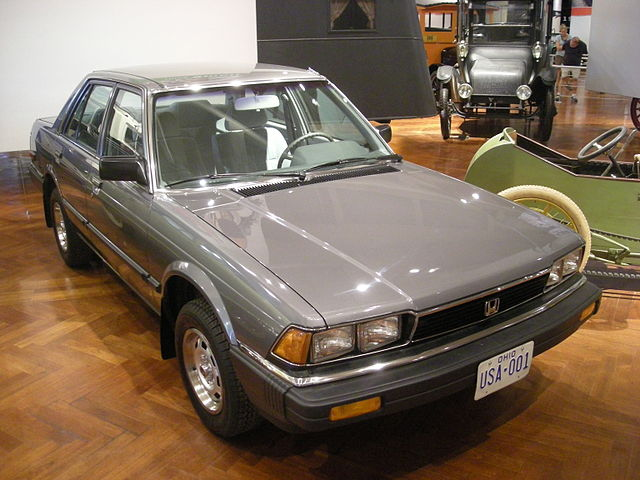 First Honda Accord Made In America On Display At Henry Ford Museum