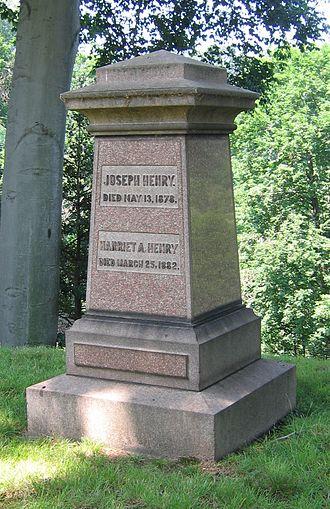 Joseph Henry - Henry's grave, Oak Hill Cemetery, Washington, D.C.