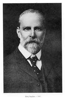 Henry Vaughan (architect) English church architect in America