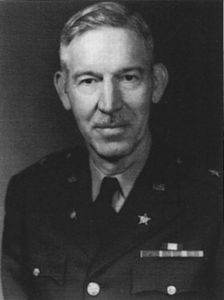 Head and shoulders of a man in uniform
