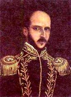 Tomás de Herrera President of New Grenada