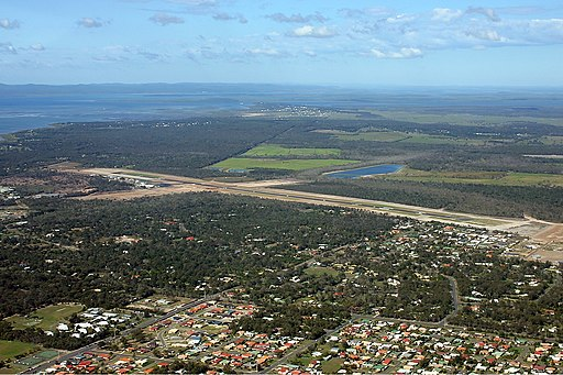 Hervey Bay Airport overview Vabre