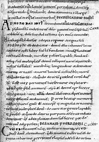 Image of a full page medieval manuscript without any illustrations