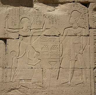 Amenhotep (High Priest of Amun) - Amenhotep and Ramesses IX