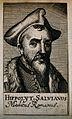 Hippolytus Salvianus. Line engraving, 1688. Wellcome V0005190.jpg
