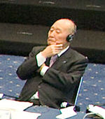 Hisahiro Fujii cropped 1 G7 Finance Ministers and Central Bank Governors meeting 20091003.jpg