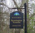 Historic bennington vermont sign.JPG