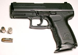 Heckler & Koch P2000 - P2000 (Full Size) chambered in .40 S&W