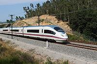 Hochgeschwindigkeitszug Spanien Class 103 AVE Siemens Macanet-Massanes.JPG
