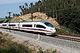 Siemens RENFE Class 103 Fast Train at Spain 22.7.2013