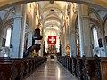 Hofkirche Luzern, Schweiz am 1.8.2013 = Lucerne Church of St. Leodegar, Switzerland, 1st of August 2013.JPG