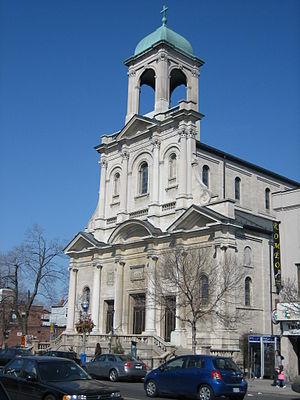 Arthur W. Holmes - Image: Holy Name Catholic, Toronto