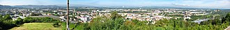 Homburg (Saar) - Image: Homburg Saar Blick vom Schlossberg