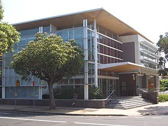 Homebush, New South Wales - Library, Rochester Street