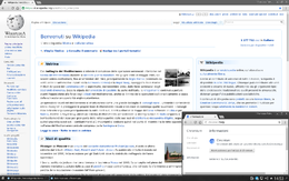 Homepage di Wikipedia su Chromium 51
