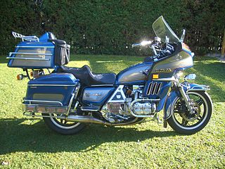 Two tone Blue Grey GL 1100 GoldWing
