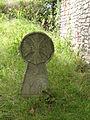 Hondarribia, basque stele aside ermita Santiago.JPG