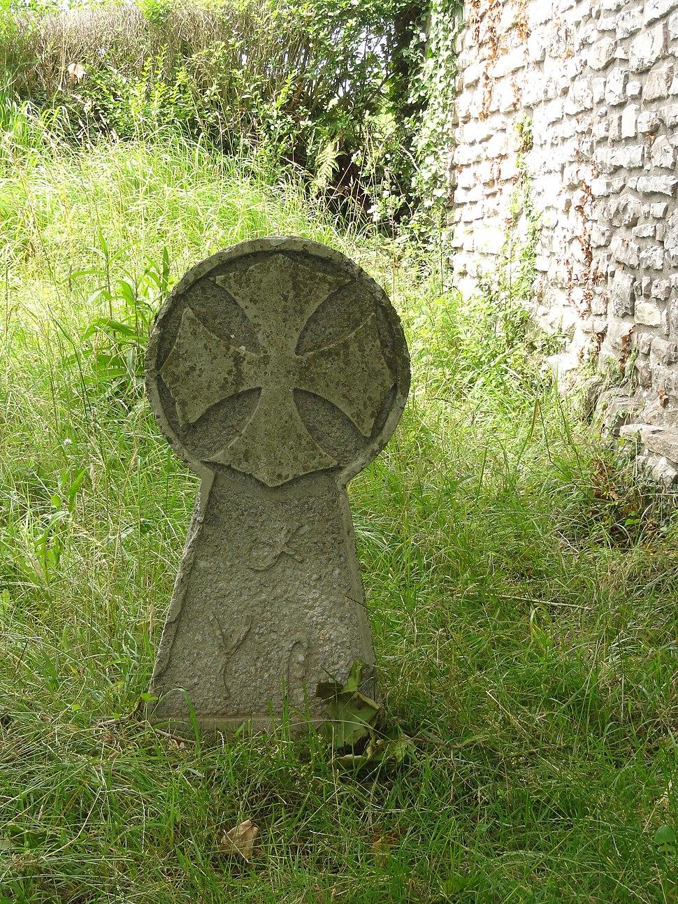 Hondarribia, basque stele aside ermita Santiago
