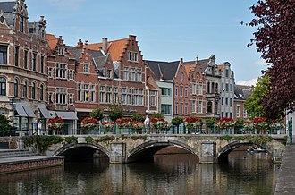 Lier, Belgium - Image: Hoogbrug in Lier, Belgium (DSCF0668)