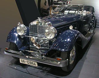 Horch - Horch 670, 12-cylinder luxury cabriolet (1932)