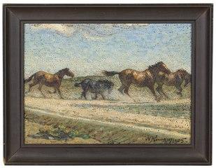 Horses at Large