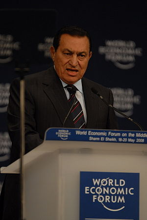 Following a dictator like Egypt's Hosni Mubarak is a particularly