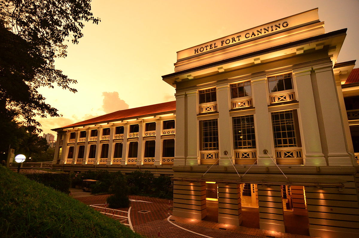 hotel fort canning wikipedia
