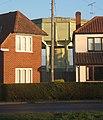 Houses with water tower behind, Barking Tye - geograph.org.uk - 1076677.jpg
