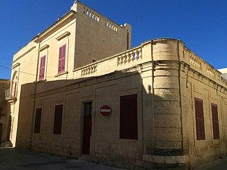 Naxxar - An exterior view of Palazzo Castro