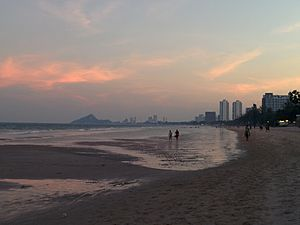Hua Hin Beach evening