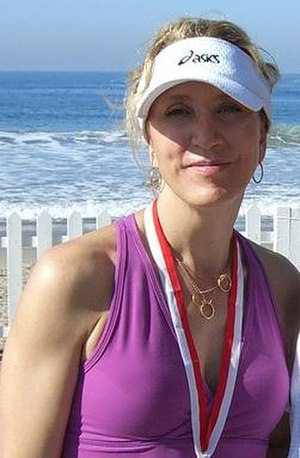 Felicity Huffman - Huffman at the 2006 Malibu Triathlon