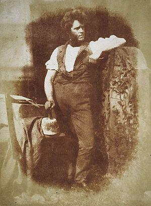 Hugh Miller - Hugh Miller, photographed by Hill & Adamson, circa 1843–1847.