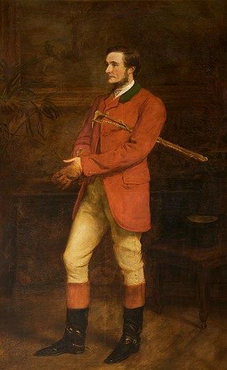Bend Or - Hugh Grosvenor (1st Duke of Westminster), the owner of Bend Or